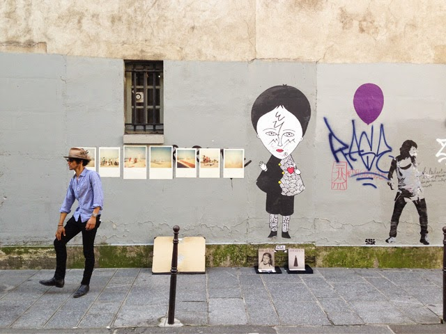 Expo photos Rue Francs Bourgeois Le Marais ©lovmint