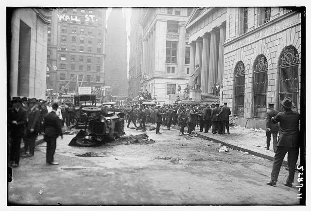 three reports on the explosion of wall street in 1920