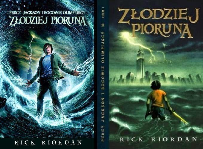 """""""Złodziej Pioruna"""" Rick Riordan"""