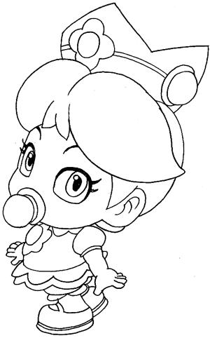 princess daisy mario brothers coloring pages coloring pages