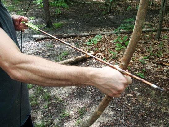 Project gridless making a stick bow - How to make a homemade bow and arrow out of wood ...