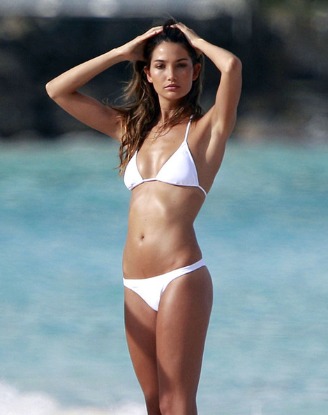 Beautiful American Female Model Lily Aldridge