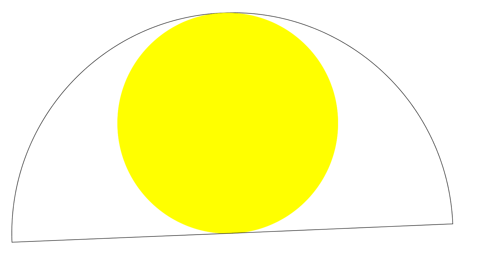 circle in semicircle here s a circle inscribed in a semicircle how ...