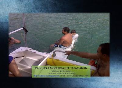 imagen Paseo a Mochima en Catamaran