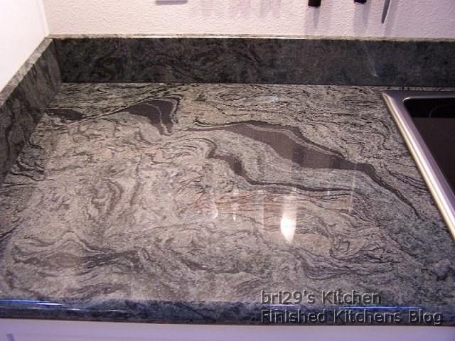 Finished kitchens blog bri29 39 s kitchen for Granite overhang limit