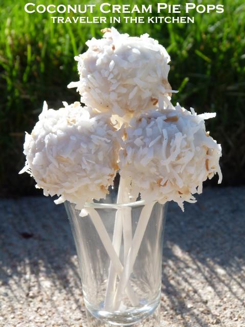 are portable coconut cream pops that are good to go