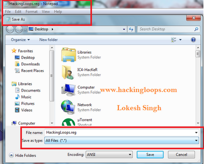 hack windows registry to own the file or folder
