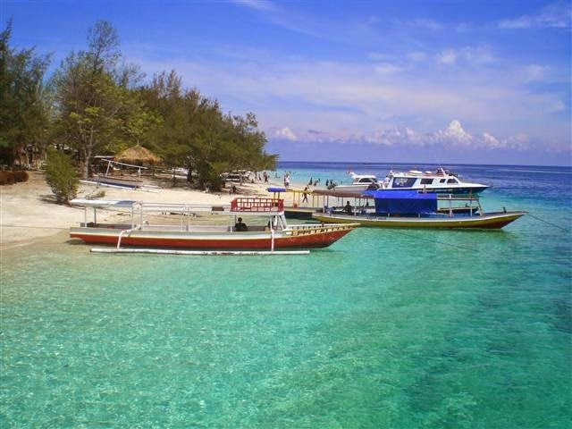 Lombok Island Accommodation Gili Island Beach in Lombok