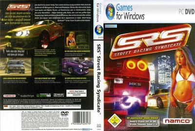 Jogo - Street Racing Syndicate PC DVD Capa