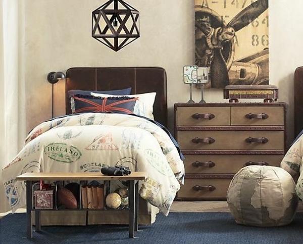 Dormitorios estilo industrial para chicos dormitorios for Pintura estilo industrial