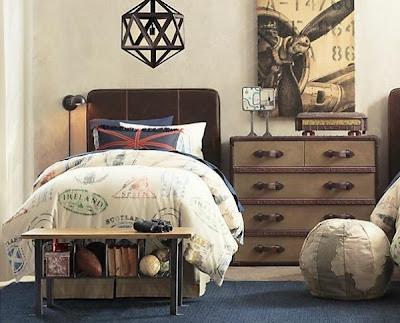 dormitorio para chico industrial