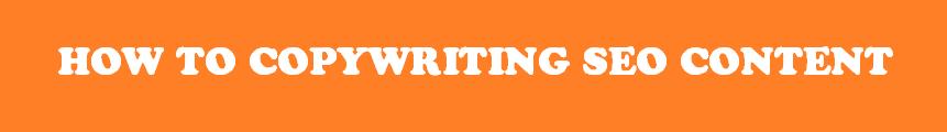 Hướng dẫn SEO Copywriting