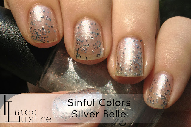 Sinful Colors Silver Belle swatch