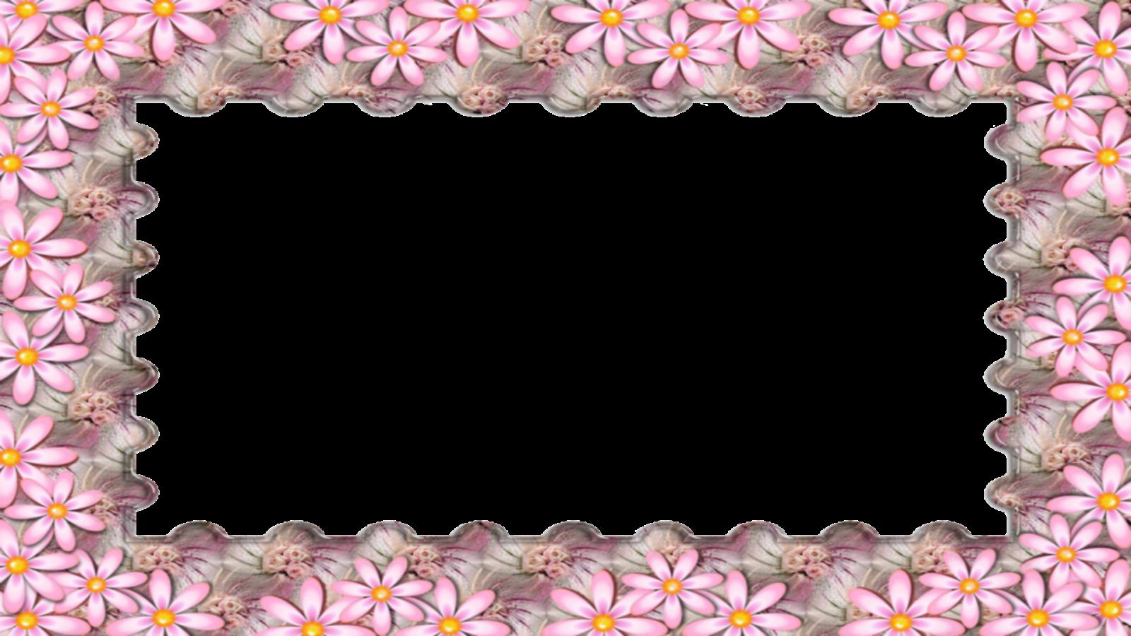 Moldura Primavera 15 png