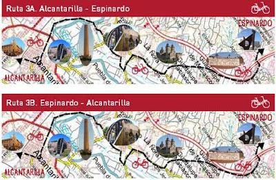 """Al campus pedaleando"" ruta 3A"