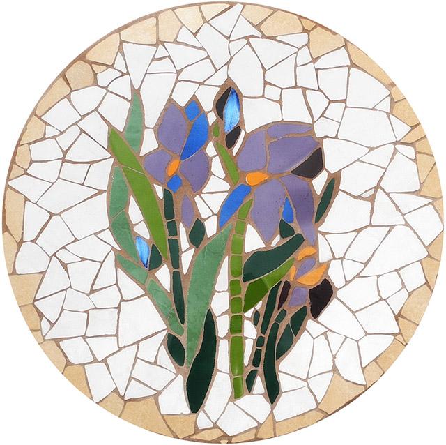 mozaika artystyczna - blat stolika