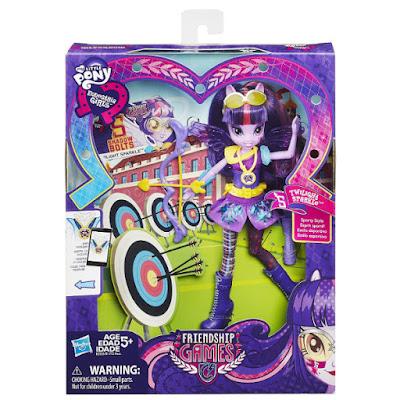 TOYS : JUGUETES - MY LITTLE PONY  Equestria Girls : Friendship Games  Twilight Sparkle : Estilo Deportivo | Sporty Style  Arco | Muñeca - Doll  Producto Oficial 2015 | Hasbro B2026 | A partir de 5 años  Comprar en Amazon España & buy Amazon USA