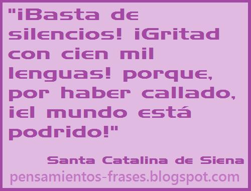 frases de Santa Catalina de Siena