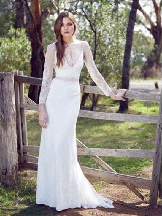 Wedding Dresses For Casual Wedding : Casual wedding dresses with sleeves