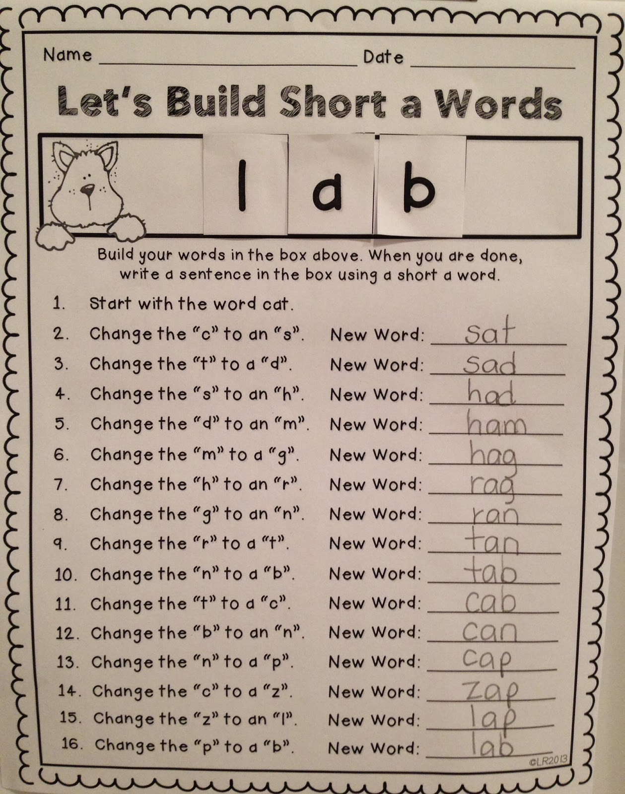 word building As you learned last time, charlotte mason's reading lessons used two  approaches: sight words and word-building to add variety and keep things  interesting for.