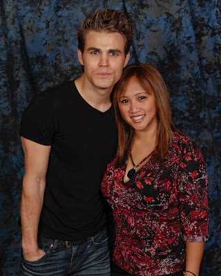 w/ Paul Wesley ~ 2012 Vampire Diaries Convention ~ San Francisco, CA