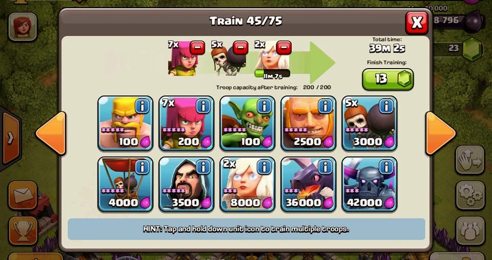 how to build a lego balloon clash of clans