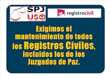 SPJ-USO CONTRA EL CIERRE DE LOS REGISTROS CIVILES