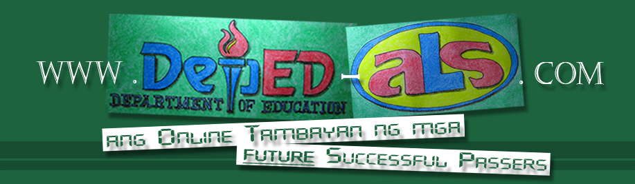 ALS DepED - Alternative Learning System