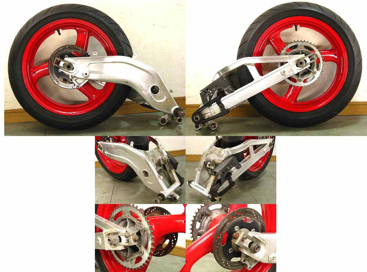 swing arm banana + velg blkg RGV250