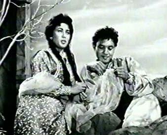 Filem Melayu - Laila Majnun 1962 Lakonan Nordin Ahmad & Latifah Omar