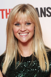 Reese Witherspoon Long Straight Hairstyle with Bangs