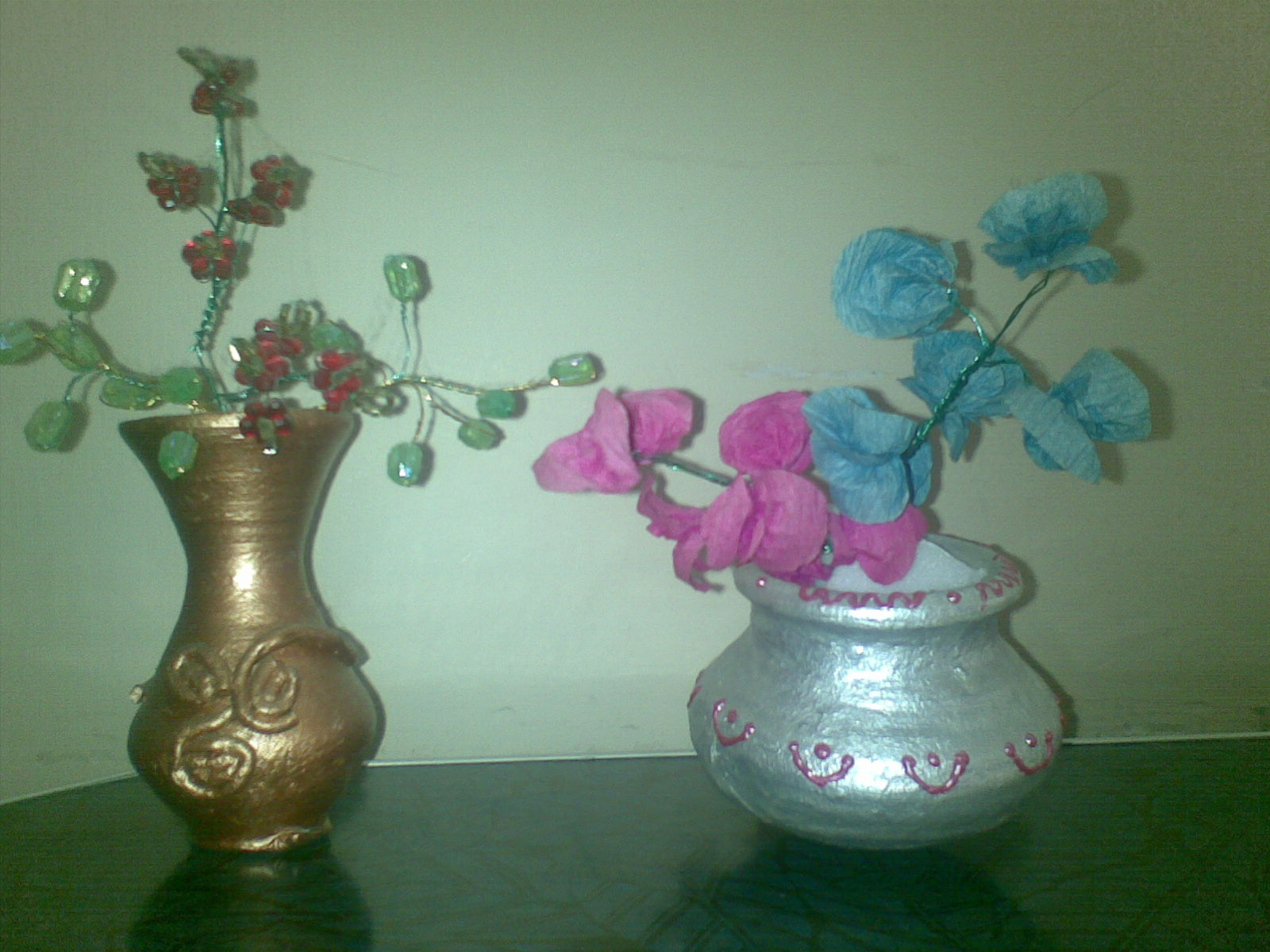 Hobby Workshops In Bangalore Making Crape Paper Flowers And Bead