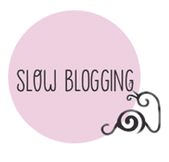 Este blog practica el slow blogging