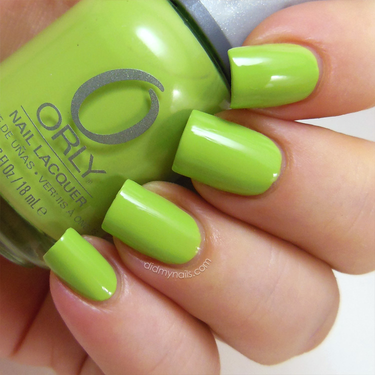 Did My Nails: Orly Green Apple