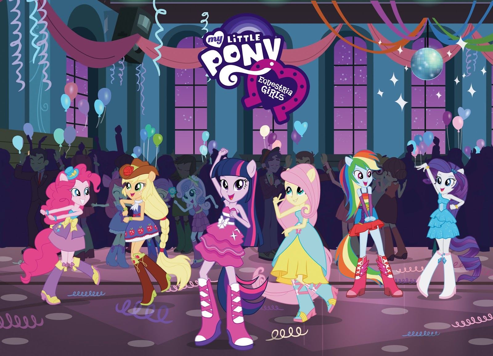 My Little Pony Equestria Girls on Blu-Ray & DVD August 6th ...