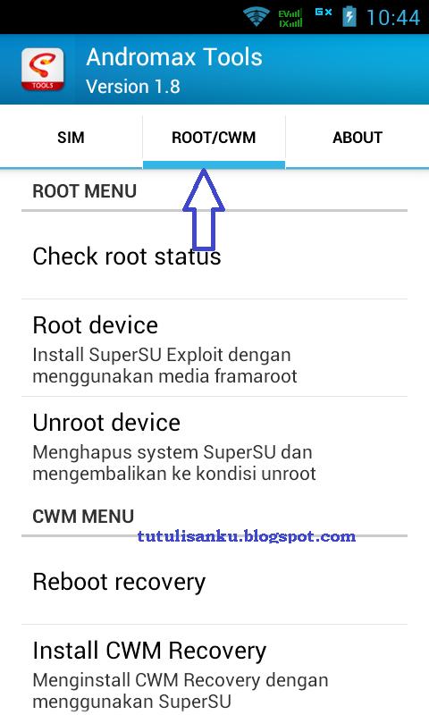 Cara Baru Root dan pasang CWM Andromax mudah dengan ...