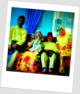 Abah..mama n Cunnie's family...