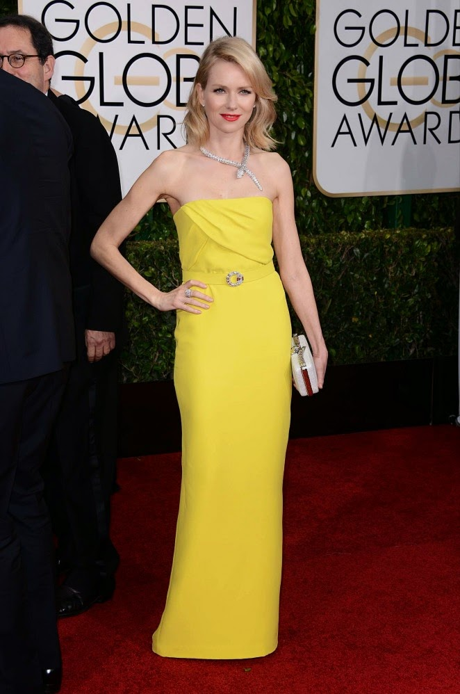 Naomi Watts: 2015 Golden Globe Awards