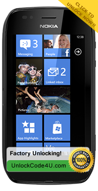 Factory Unlock Code for Nokia Lumia 710