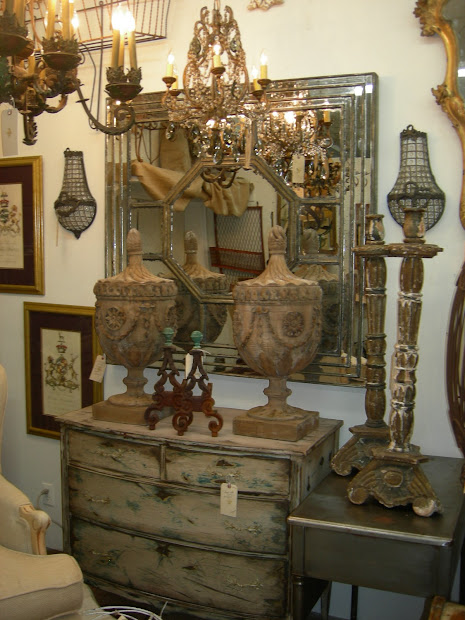 French Country Antique Booth