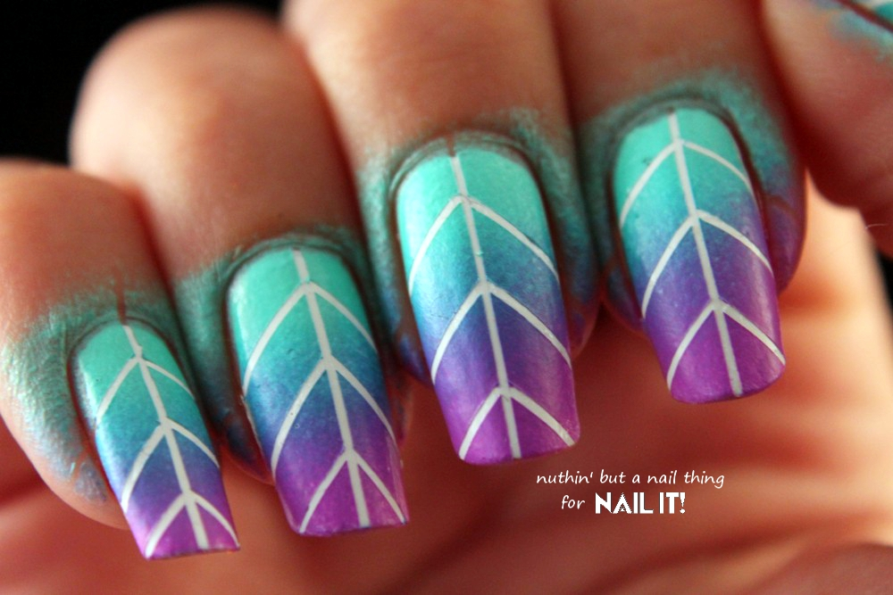 Nuthin But A Nail Thing Nail It Magazine Striping Tape Gradient