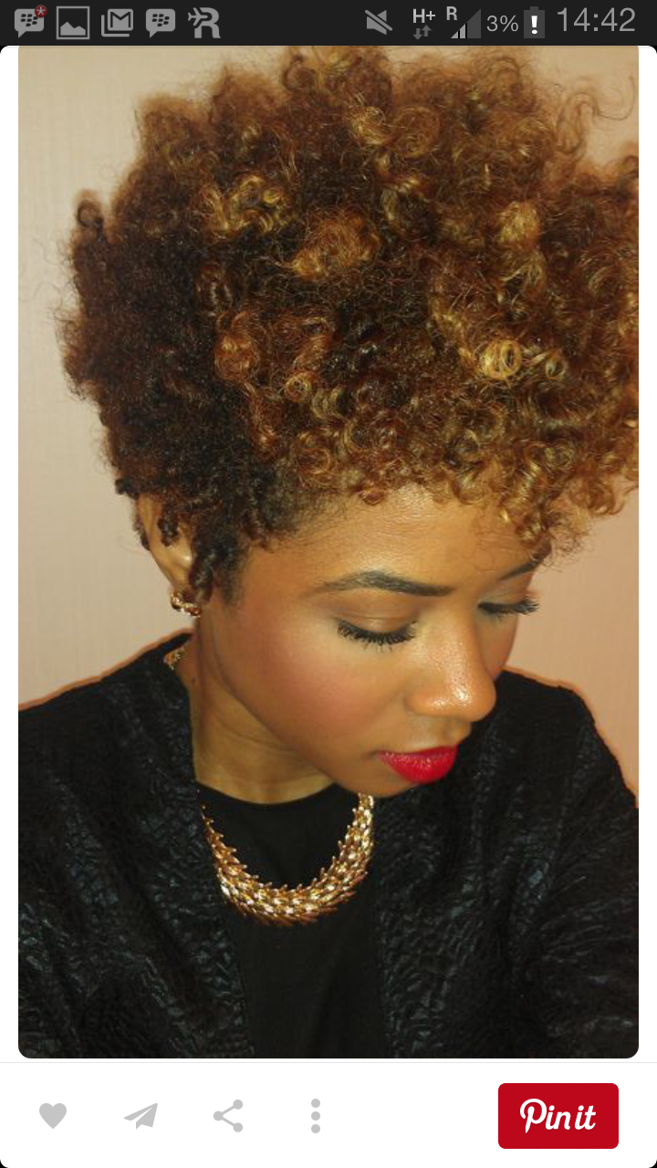 Crochet braids: Tapered cut and colour Naija girl next door