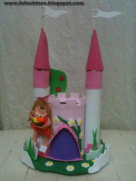 Mis creaciones castillo medieval - Manualidades castillo medieval ...