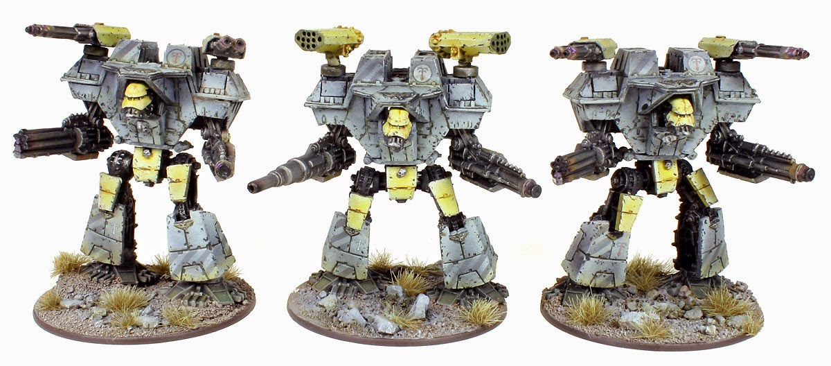 Epic Scale Legio Gryphonicus Warlord Titans