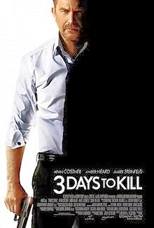 3 Days to Kill (2014) 3gp, MP4, AVI Mobile Movie Download