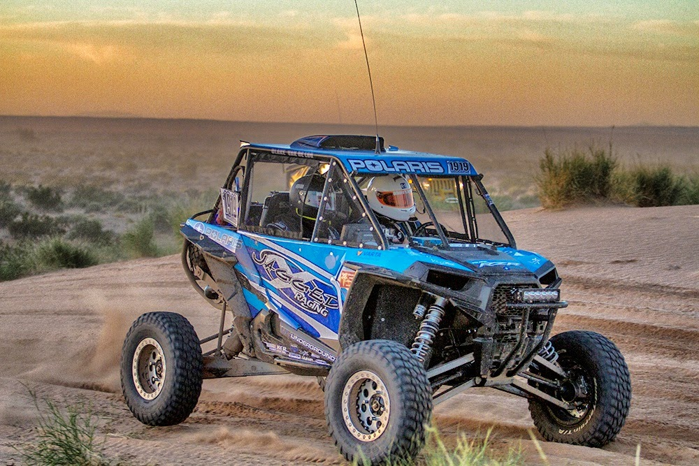 Jagged X's Brandon Schueler in the No. 1919 RZR XP 1000