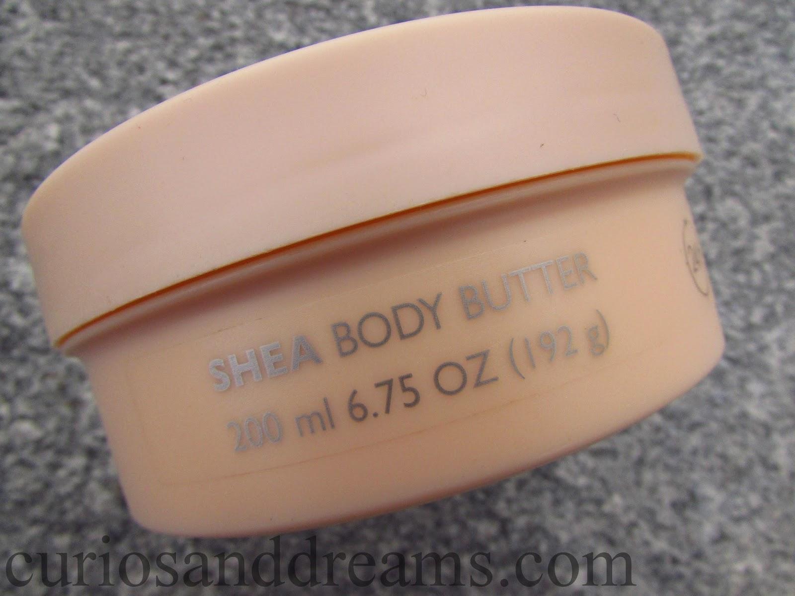 The Body Shop Shea Body Butter review, Shea Body Butter review, TBS Shea Body Butter review