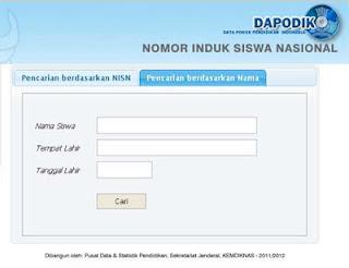 Cara Mencari NISN Online