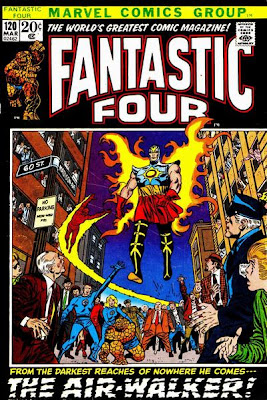 Fantastic Four #120, Airwalker