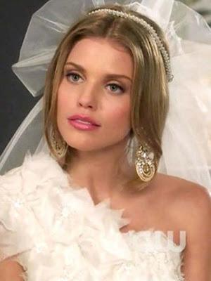 AnnaLynne McCord Gold Chandelier Earrings